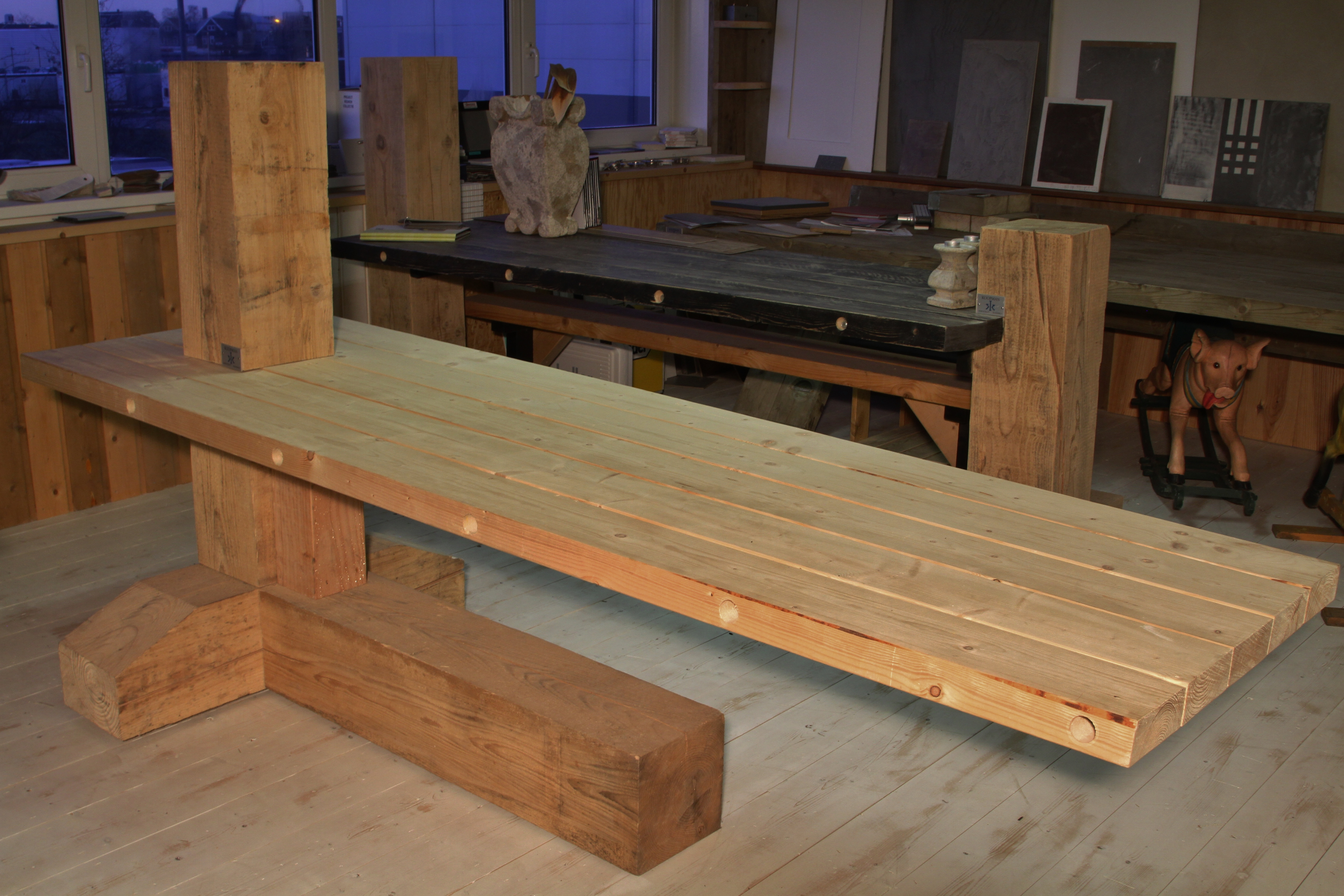 Balken tafel